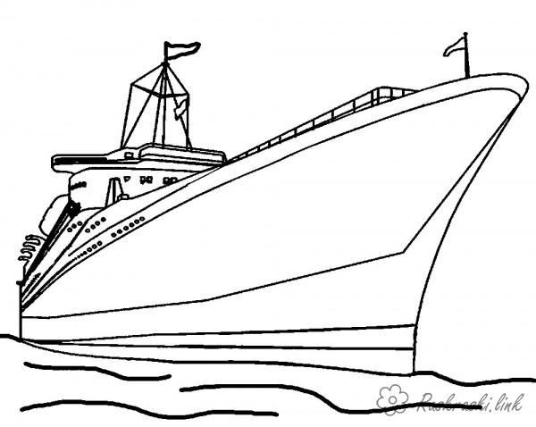 Coloring Ships coloring pages boat big boys