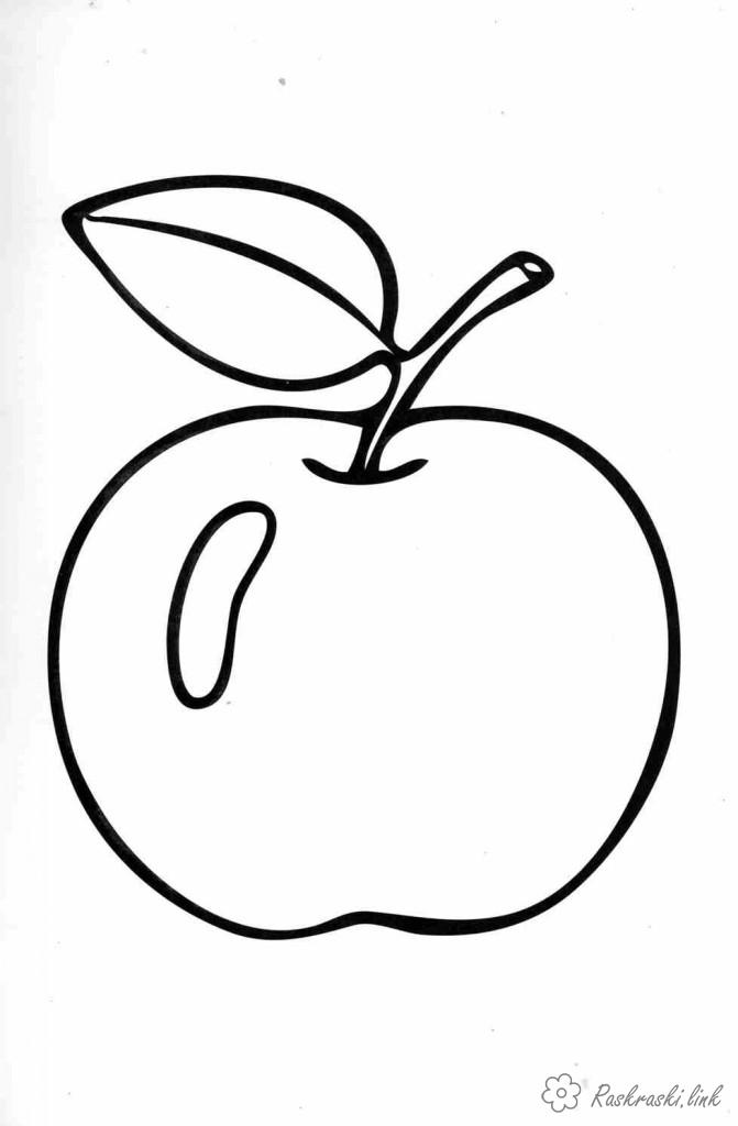 Coloring Apples  apple, coloring pages, children, green, liquid, juicy