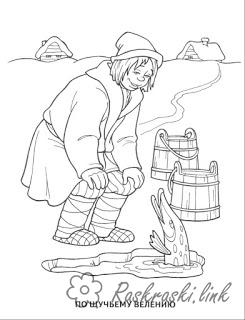 Coloring coloring pages of Russian fairy tales coloring pages the tale of schuchmu wand for I desire