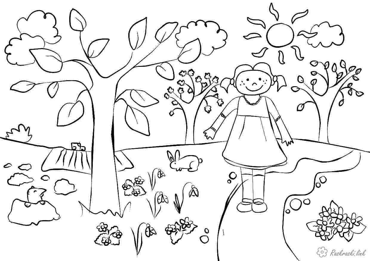 Coloring Spring coloring pages about spring