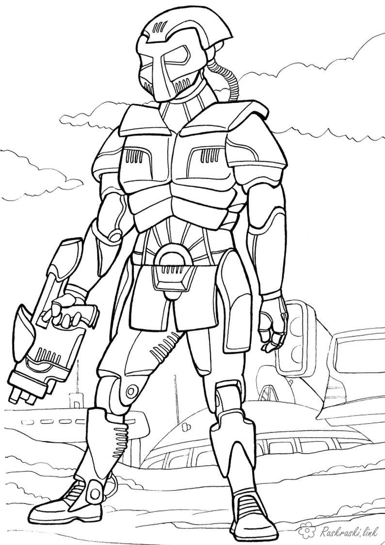 Роботы киборги трансформеры Раскраски распечатать бесплатно.