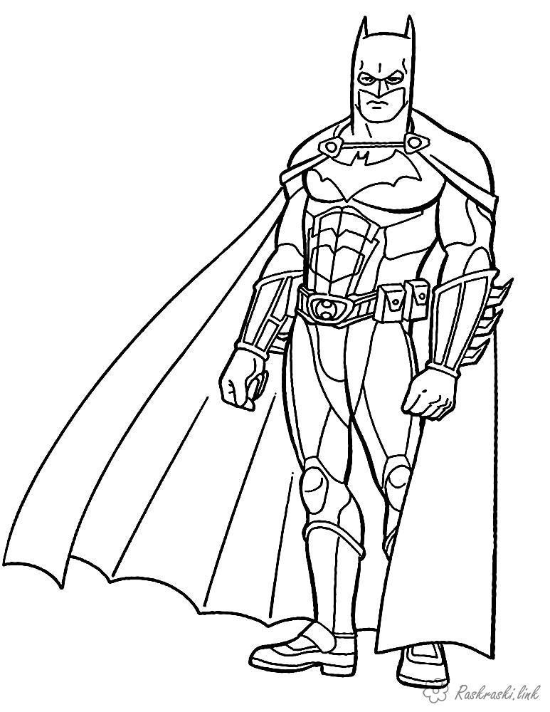 Супергерои Раскраски распечатать бесплатно.
