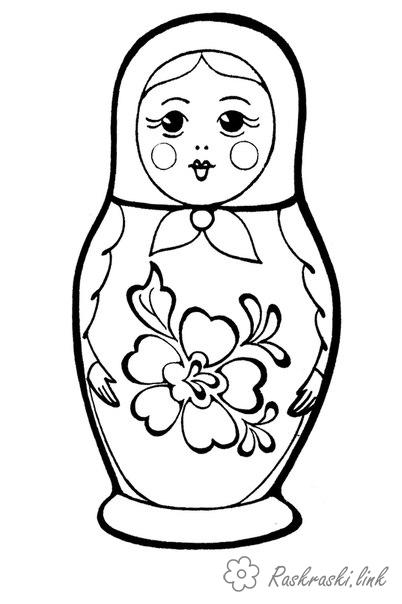 Coloring coloring pages coloring pages matryoshka, paint doll, doll colorable