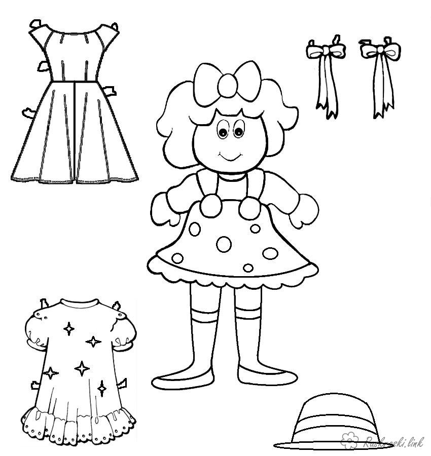 Summer clothing coloring page | Coloring pages | 900x850