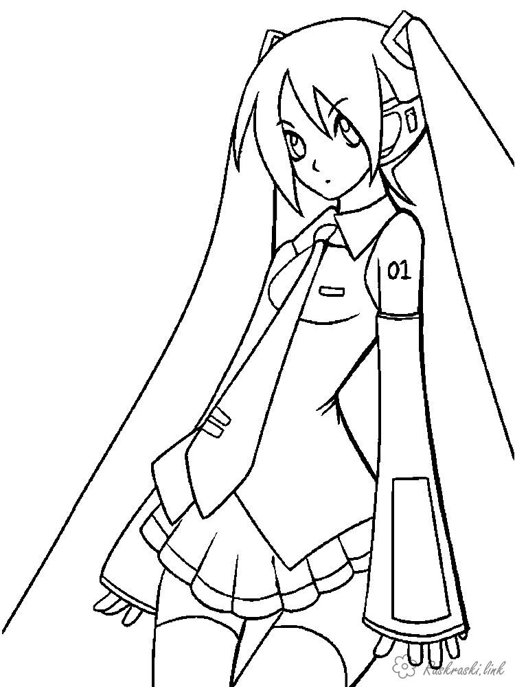 Coloring coloring pages girl