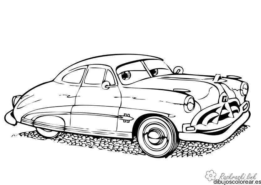 Розмальовки Розфарбувати машину розфарбування, машина