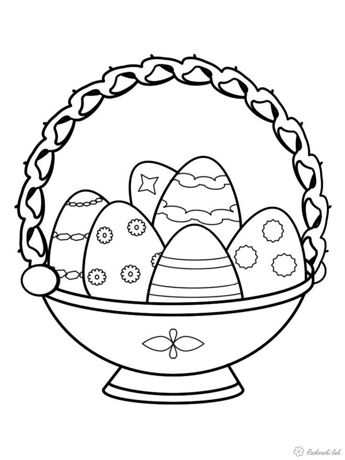 Coloring Easter Kids coloring pages the holiday