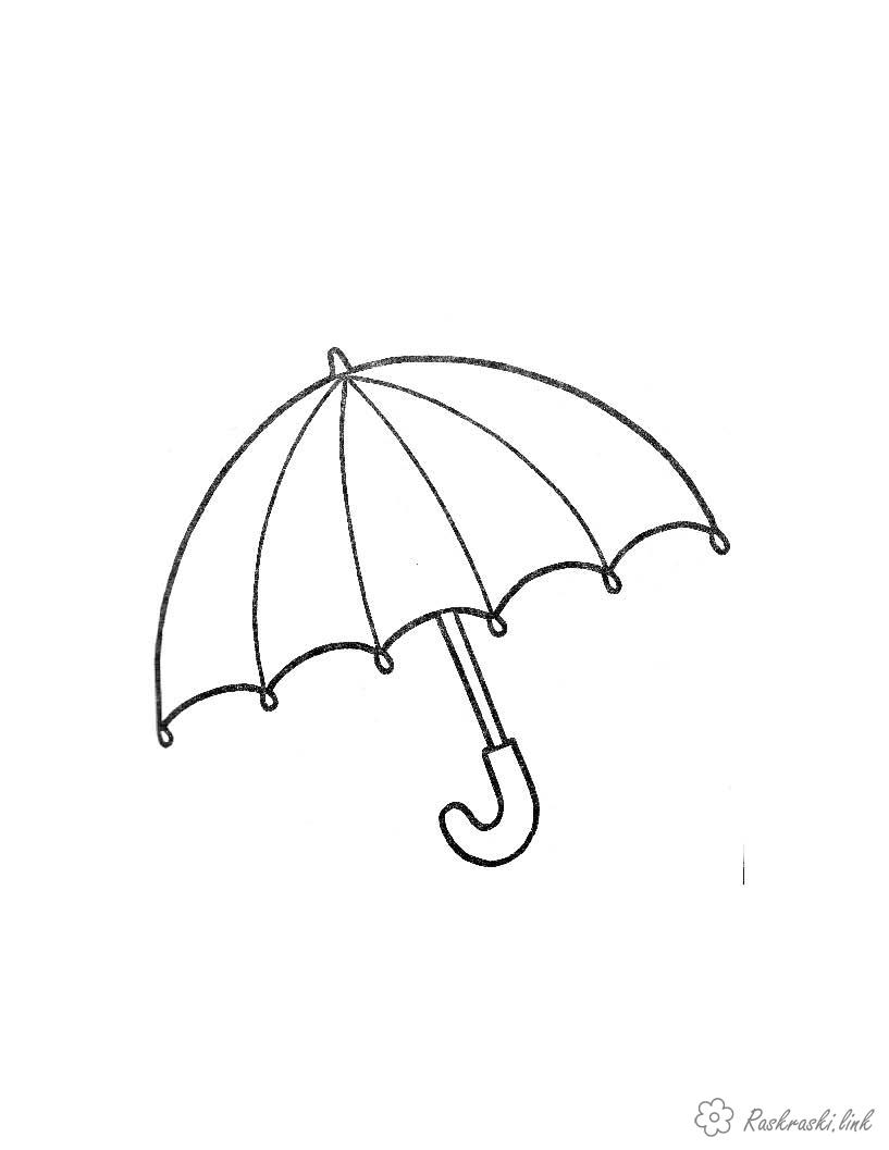 Coloring Simple coloring pages for kids Kids coloring pages umbrella