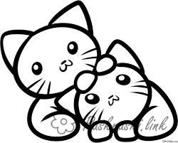 Coloring Simple coloring pages for kids Kids coloring pages kittens, cats