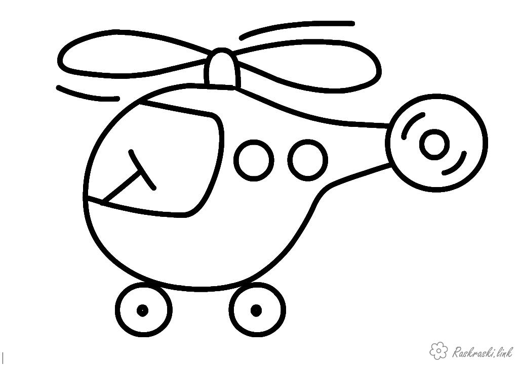 Coloring Simple coloring pages for kids coloring pages for kids, helicopter