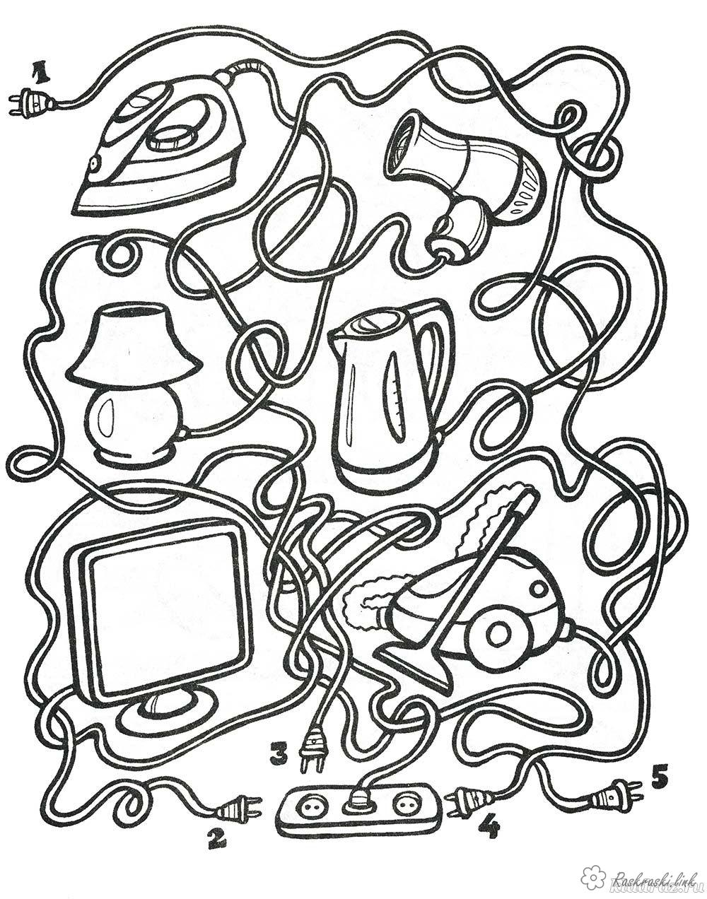 Coloring coloring pages maze Kids coloring pages maze