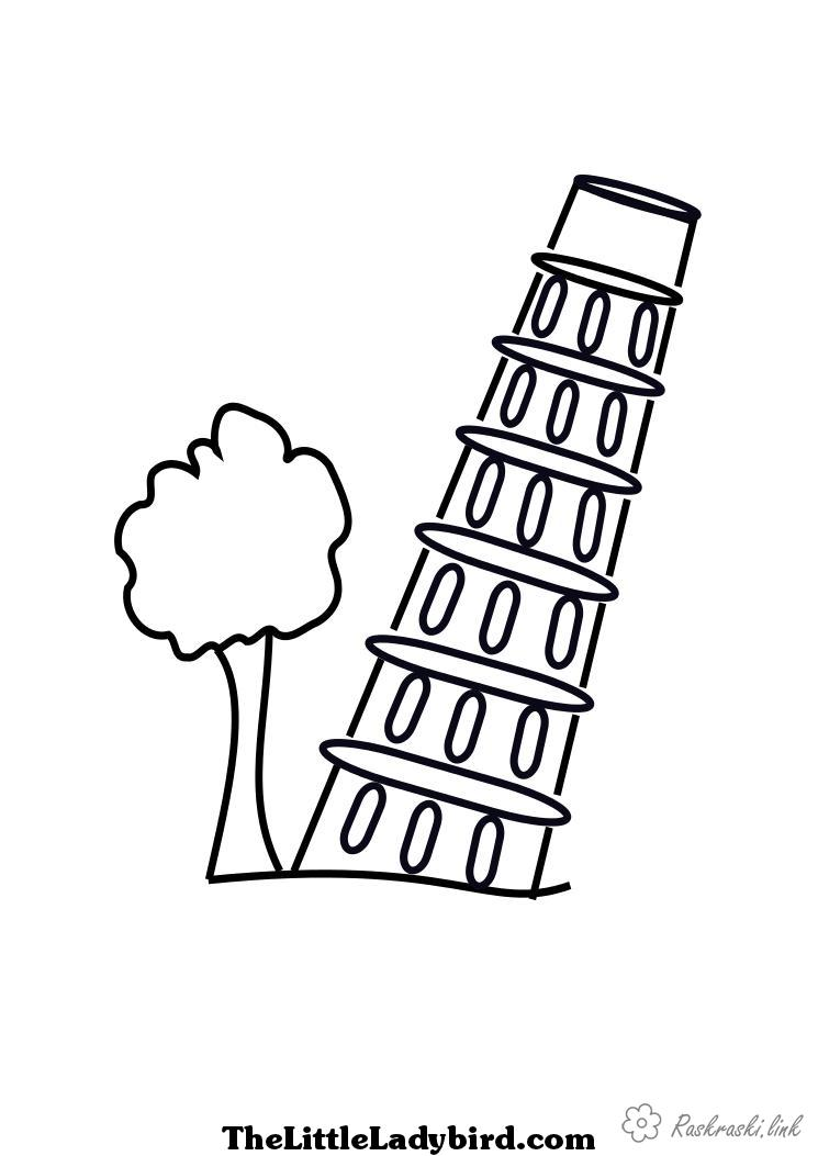 Coloring Simple coloring pages for kids coloring pages for kids Tower