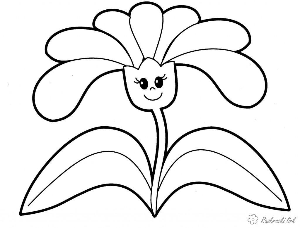 Розмальовки Рослини розмальовки рослини, природа, квіти