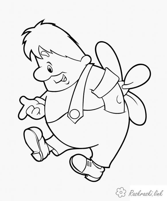 Coloring Soviet coloring pages coloring pages Carlson who lives on the roof