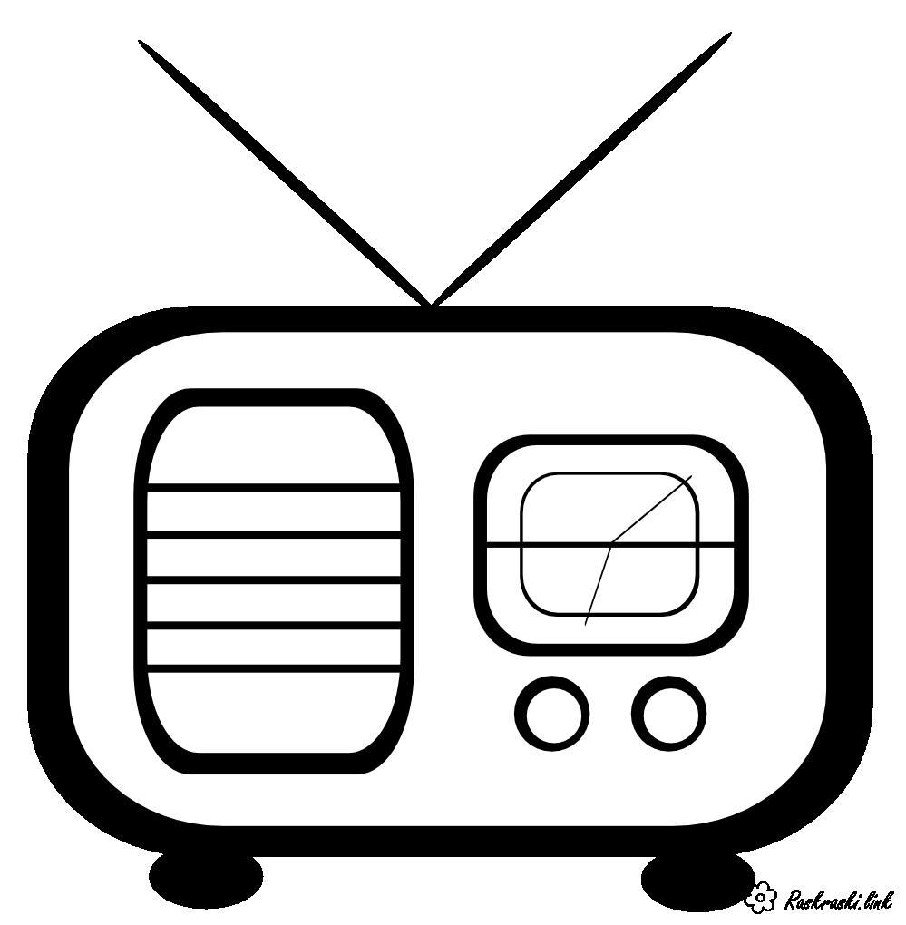 Розмальовки День радіо розмальовки свята, День радіо, радіо
