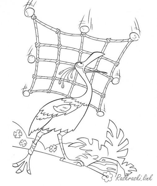 Coloring Up coloring pages cartoons, cartoon coloring pages up bird