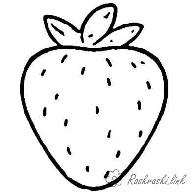 Coloring Simple coloring pages for kids coloring pages Strawberry