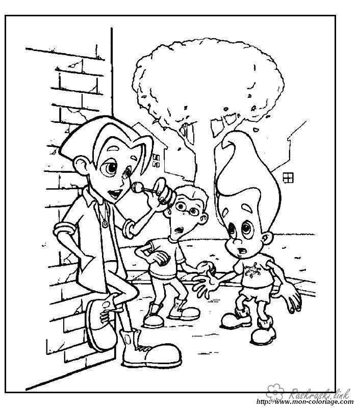 Coloring shin-boy coloring pages cartoons, Nickelodeon coloring pages, Jimmy Neutron, Shin-boy
