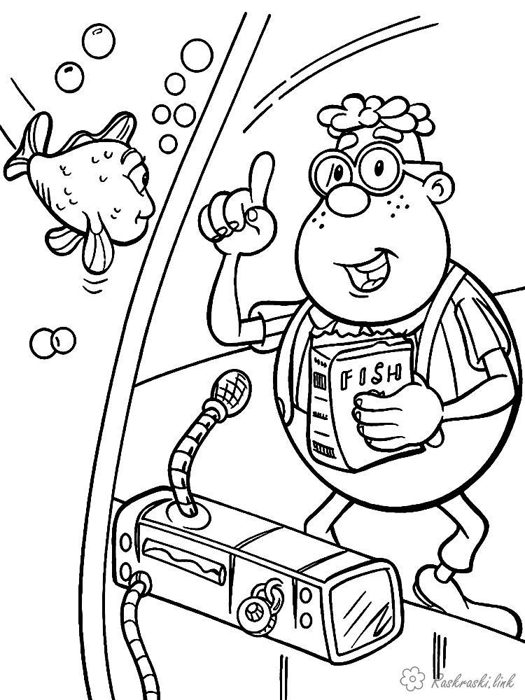 Розмальовки Джиммі нейтрон розмальовки мультфільми, Nickelodeon розмальовки, Джиммі Нейтрон, Карл, хлопчик