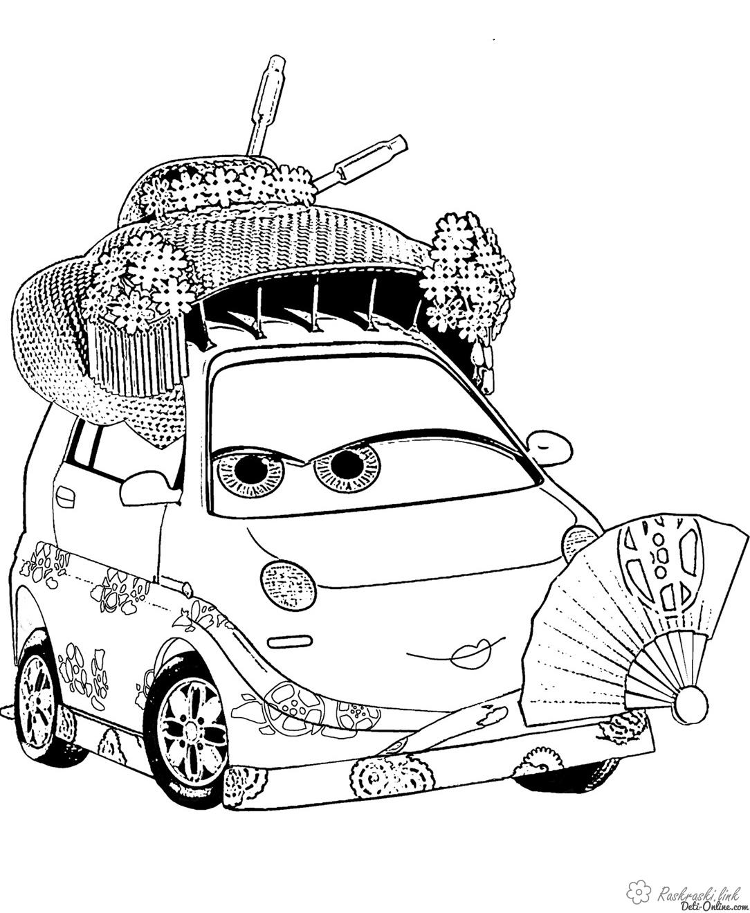 Coloring cars 2 coloring pages cartoons coloring pages Cars 2