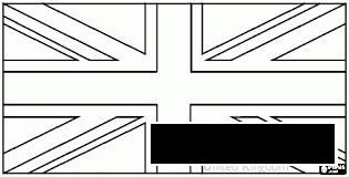Coloring British flag British Flag coloring pages