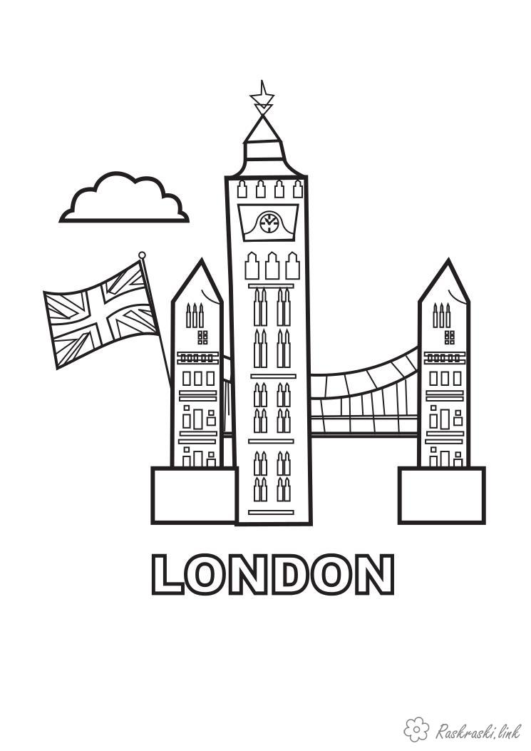 Coloring London London coloring pages