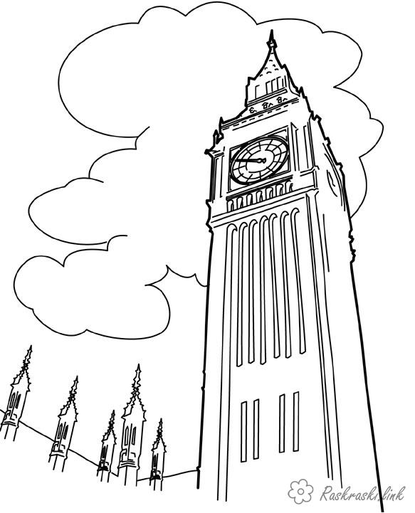 Coloring London Bigby coloring pages, England, London