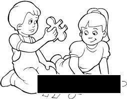 Розмальовки дівчинка Свято 1 червня День захисту дітей дівчинка хлопчик гра пазл