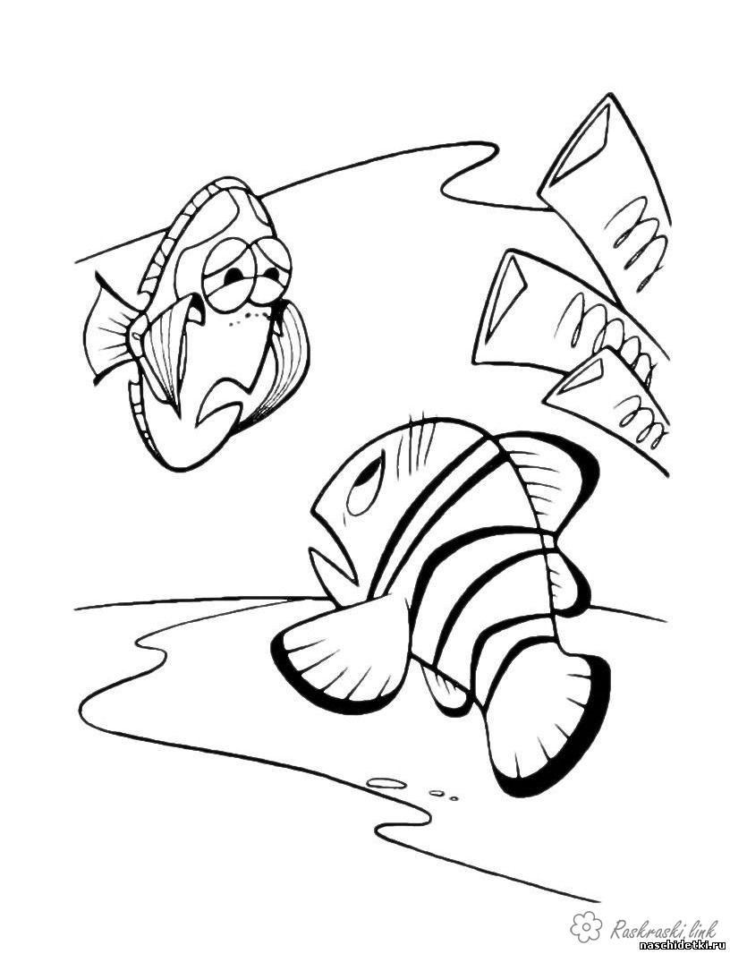 Coloring Finding Nemo coloring pages pages, Finding Nemo