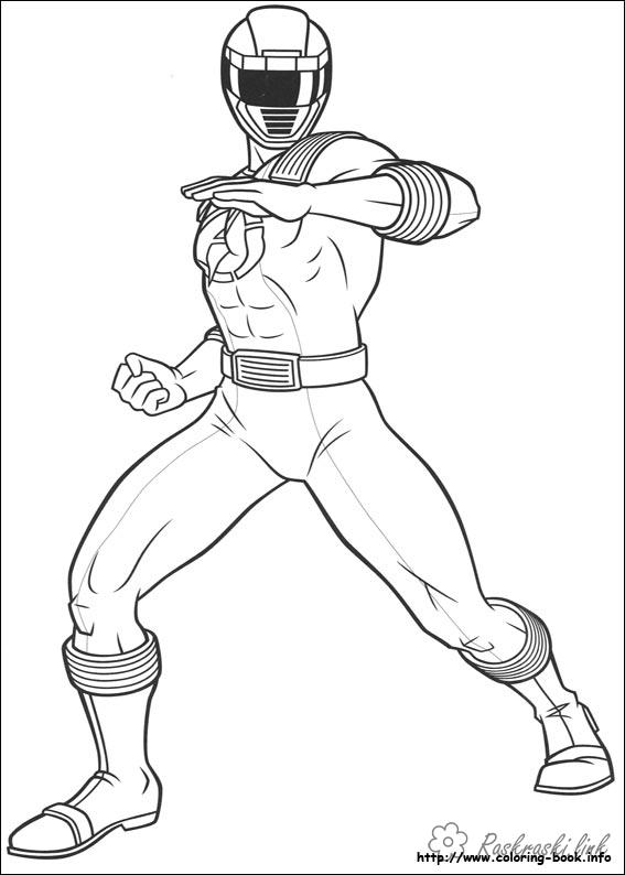 Coloring nickelodeon Rangers coloring pages
