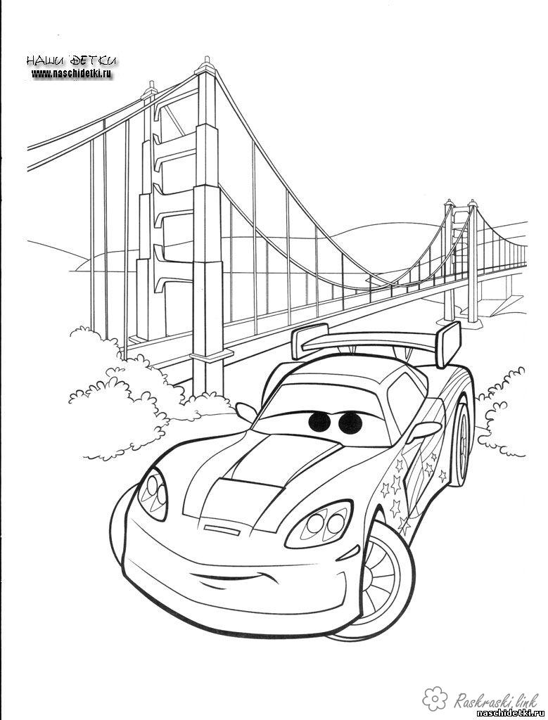 Coloring cars 2 2 cars, car coloring pages