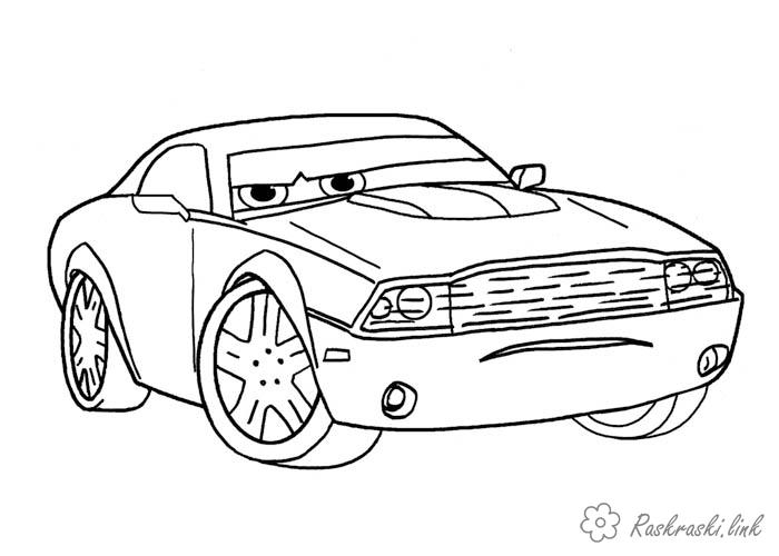 Coloring cars 2 coloring pages illustration for 2 cars