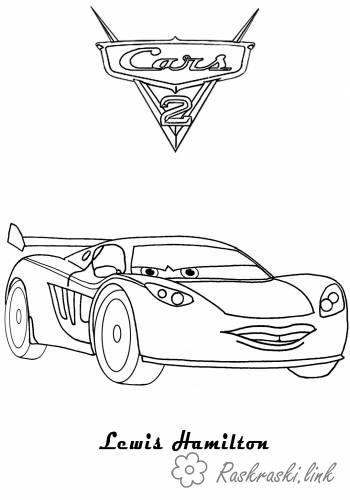 Coloring cars 2 Cars 2, coloring pages, Lewis