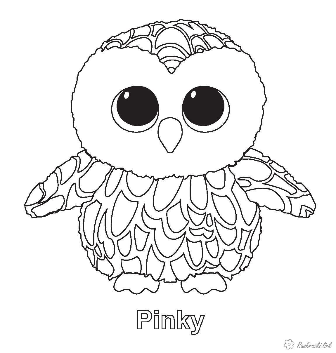 Coloring Forest animals nature forest animals bird owl owlet