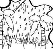 Розмальовки Явища природи природа природні явища дощ веселка пльми