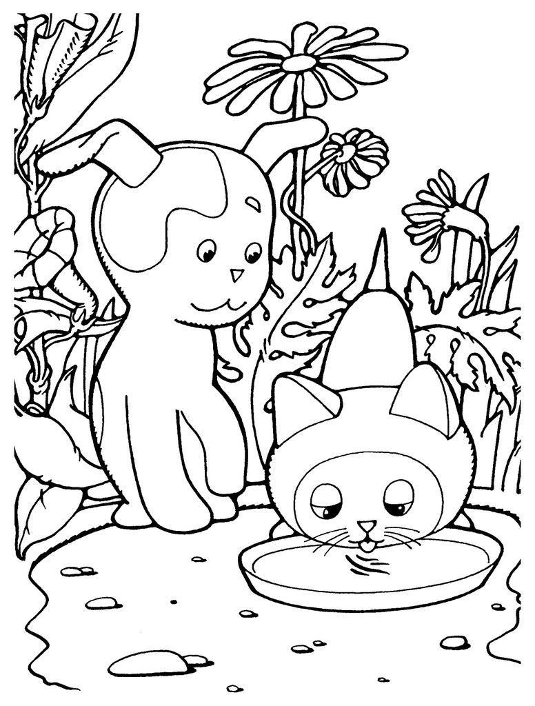 Coloring Kitten Woof