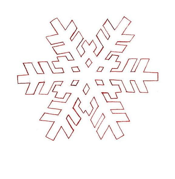 Coloring snowflakes snowflake pattern for the new year
