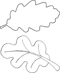 Coloring trees leaves for leaf applications figures