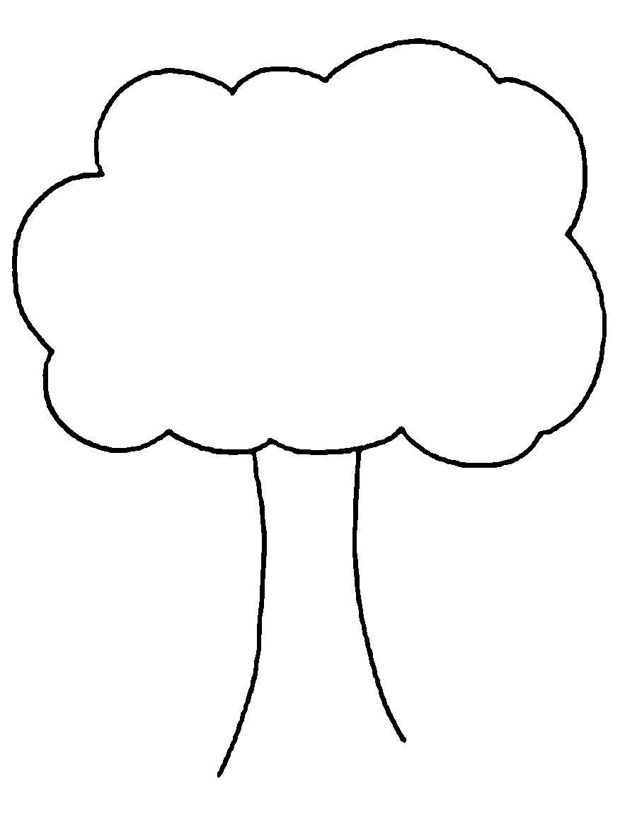 Деревья для вырезания из бумаги Раскраски распечатать ...
