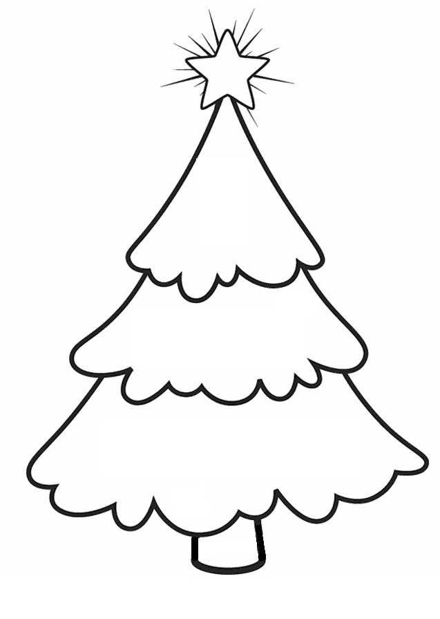 Coloring Christmas tree pattern to cut paper Christmas tree cut out from paper