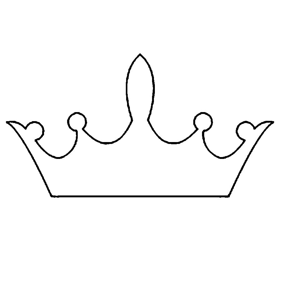 Coloring Crown  Crown pattern for children crown for cutting paper