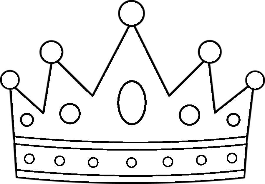 Розмальовки Корона  ажурна корона з паперу для вирізки