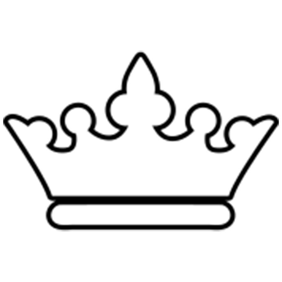 Coloring Crown  Royal Crown Pattern Paper