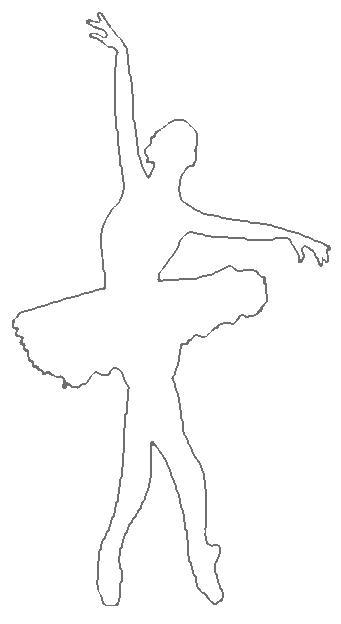 Розмальовки шаблони балерин балерина шаблон для вирізання з паперу, для дітей