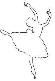 Розмальовки шаблони балерин балерина трафарет для вирізки з паперу, для дітей