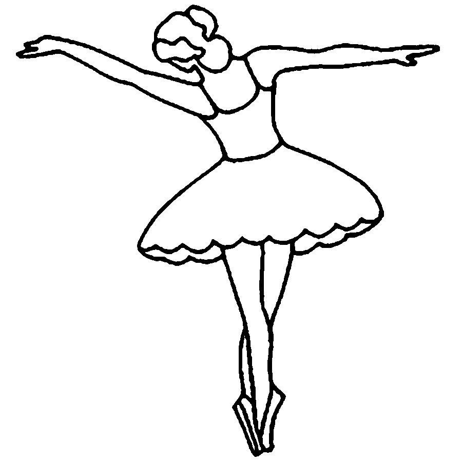 Розмальовки шаблони балерин балерина викрійка з паперу для дітей