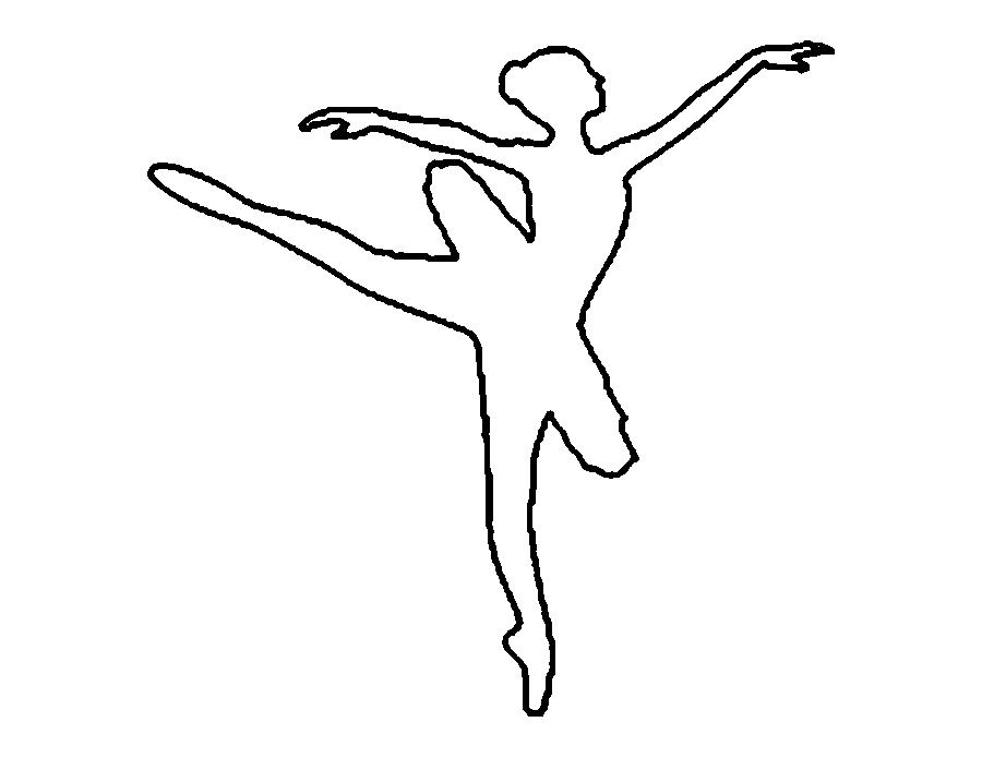 Розмальовки шаблони балерин балерина викрійка для вирізання з паперу