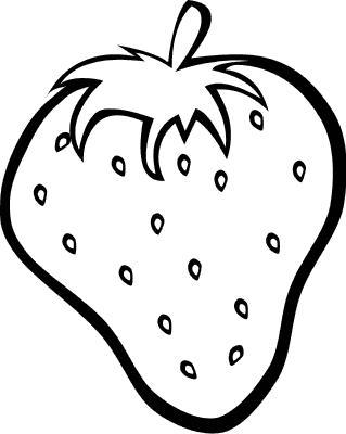 Розмальовки Шаблони трафарети контури шаблон ягоди, трафарет ягоди, викрійки ягоди, контури