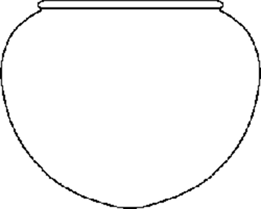 Coloring Pattern Vase Round vase circuit for cutting paper