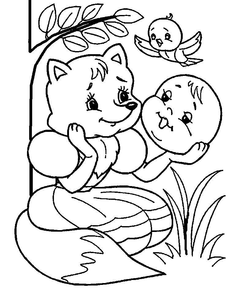 Розмальовки розмальовки по казках Чуковського казки Чуковського, розмальовки для самих маленьких